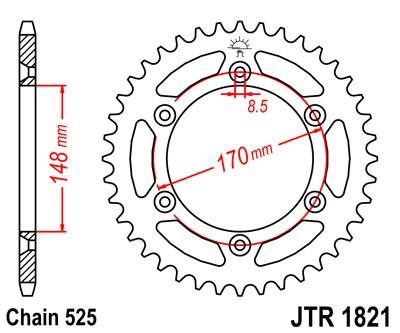 Galinė žvaigždė JT (JTR 1821-47)