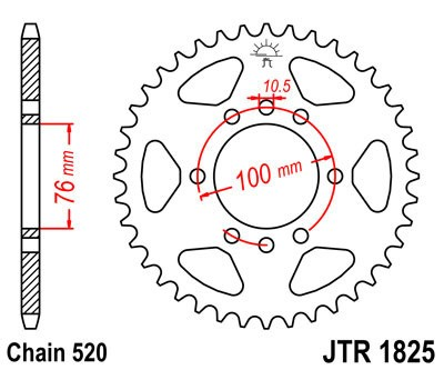 Galinė žvaigždė JT (JTR 1825-37)
