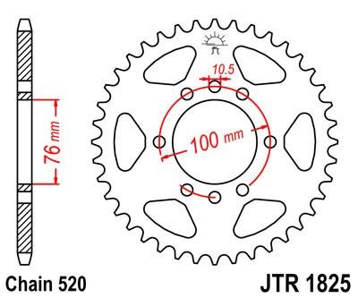 Galinė žvaigždė JT (JTR 1825-42)