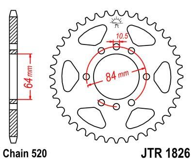 Galinė žvaigždė JT (JTR 1826-42)