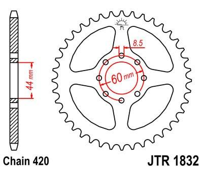 Galinė žvaigždė JT (JTR 1832-52)