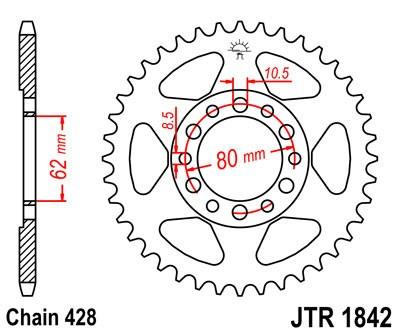 Galinė žvaigždė JT (JTR 1842-50)