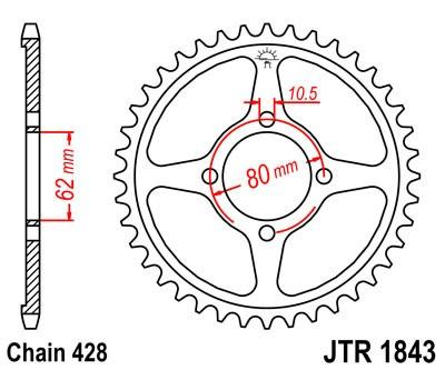 Galinė žvaigždė JT (JTR 1843-54)