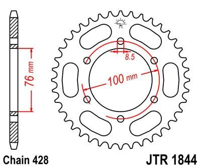 Galinė žvaigždė JT (JTR 1844-48)