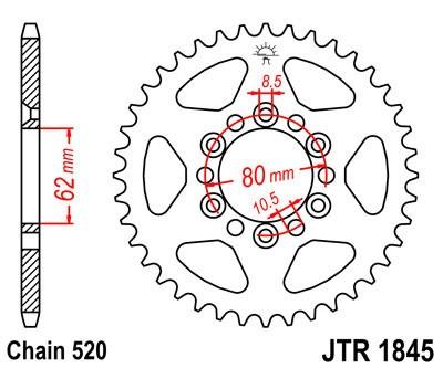 Galinė žvaigždė JT (JTR 1845-37)