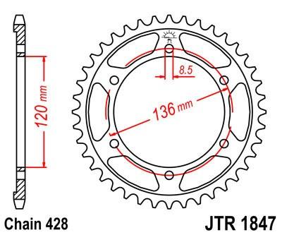 Galinė žvaigždė JT (JTR 1847-48)