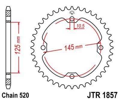 Galinė žvaigždė JT (JTR 1857-38)