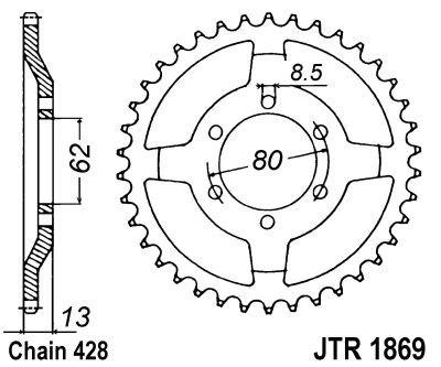 Galinė žvaigždė JT (JTR 1869-45)