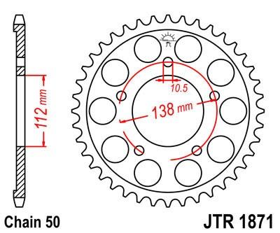 Galinė žvaigždė JT (JTR 1871-50)