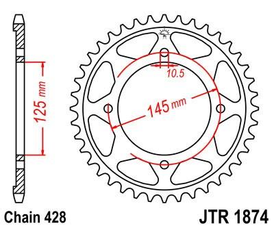 Galinė žvaigždė JT (JTR 1874-56)