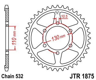 Galinė žvaigždė JT (JTR 1875-48)