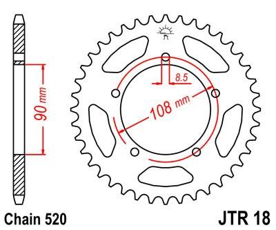Galinė žvaigždė JT (JTR 18-45)