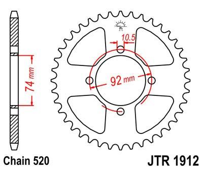 Galinė žvaigždė JT (JTR 1912-42)