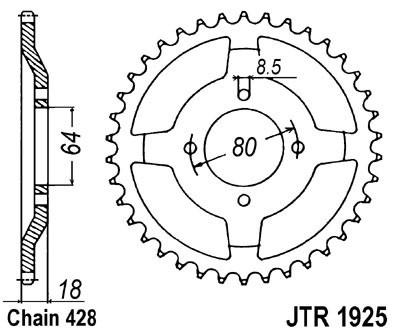 Galinė žvaigždė JT (JTR 1925-51)