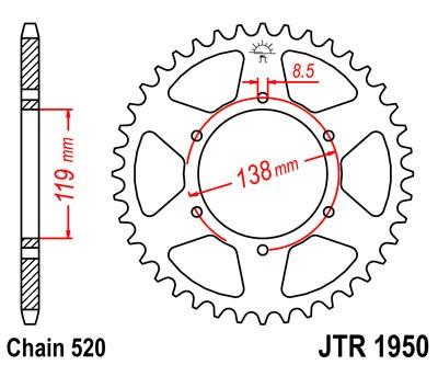 Galinė žvaigždė JT (JTR 1950-48)