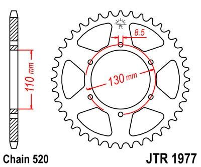 Galinė žvaigždė JT (JTR 1977-48)