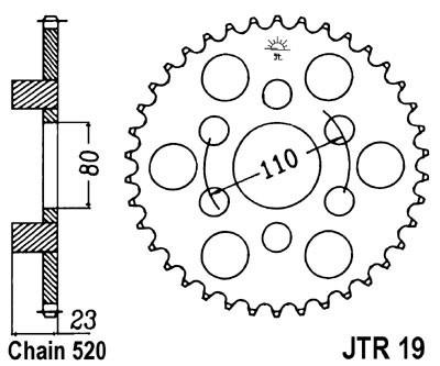 Galinė žvaigždė JT (JTR 19-36)