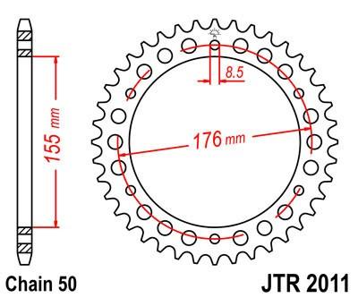 Galinė žvaigždė JT (JTR 2011-43)