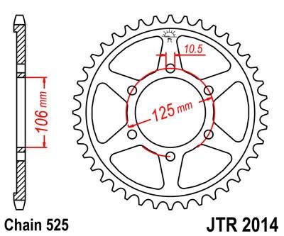 Galinė žvaigždė JT (JTR 2014-47)