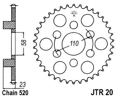 Galinė žvaigždė JT (JTR 20-41)