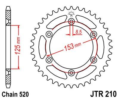 Galinė žvaigždė JT (JTR 210-40)