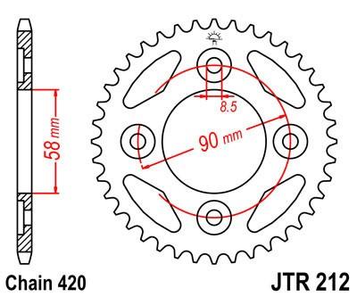 Galinė žvaigždė JT (JTR 212-35)