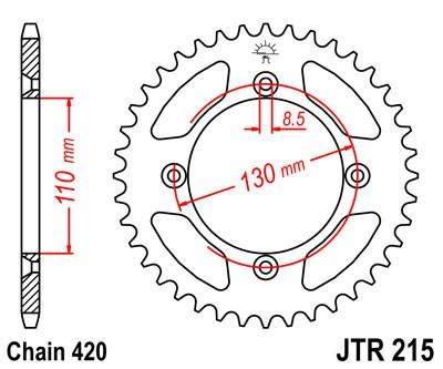Galinė žvaigždė JT (JTR 215-50)
