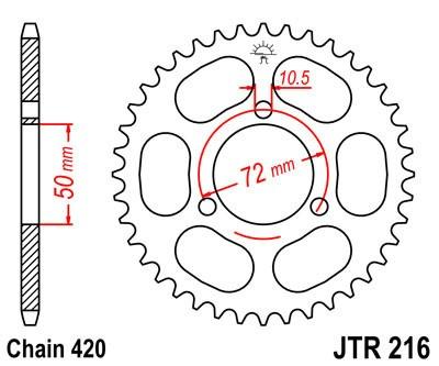 Galinė žvaigždė JT (JTR 216-43)