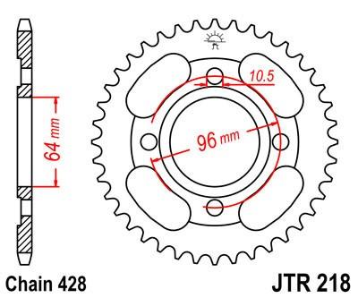 Galinė žvaigždė JT (JTR 218-44)