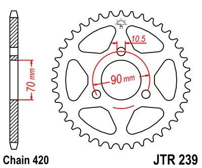 Galinė žvaigždė JT (JTR 239-43)