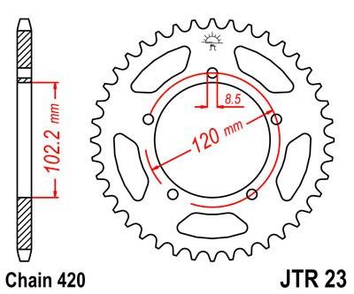 Galinė žvaigždė JT (JTR 23-47)