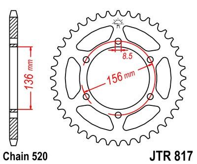 Galinė žvaigždė JTR 817-46 46T