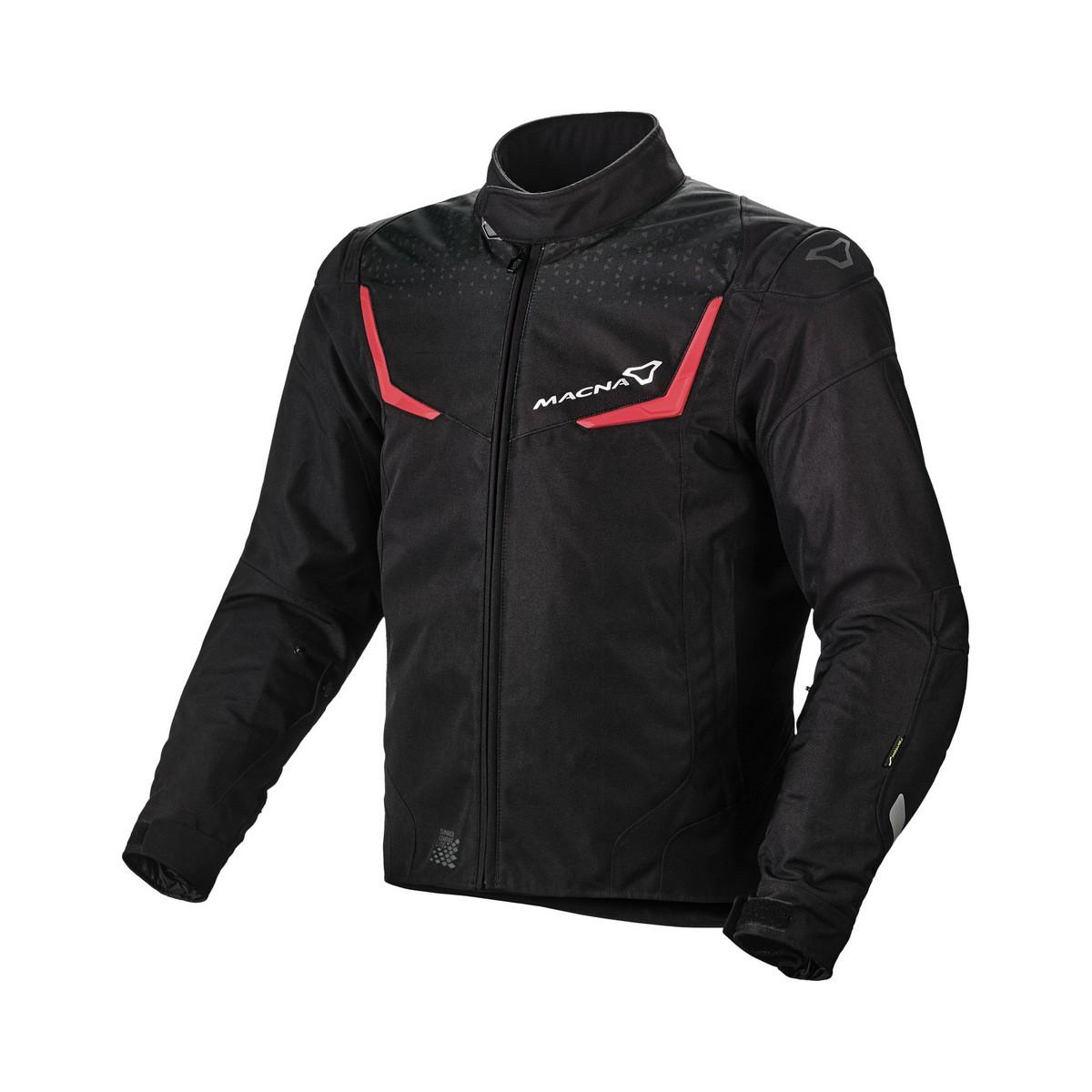 Textile jacket Macna Durago (Black/Red)