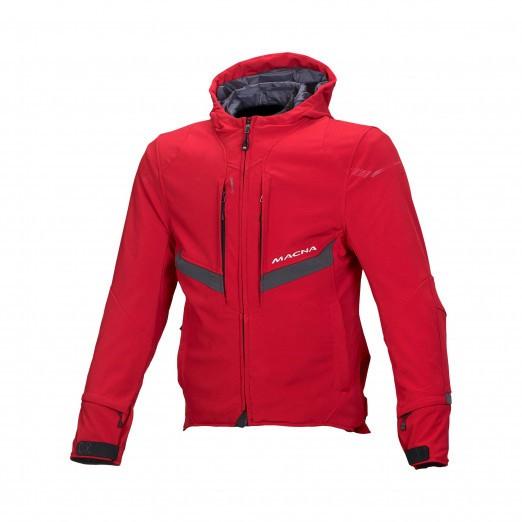 Textile jacket Macna Habitat (Red)