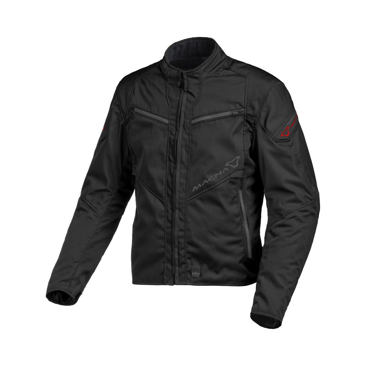 Textile jacket Macna Solute (Black)