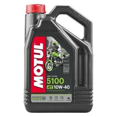 Pusiau sintetinė alyva MOTUL 5100 Ester 10W-40 4L