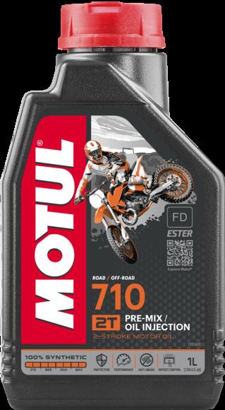 Pilnai sintetinė alyva MOTUL 710 2T 1L