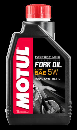 Šakių tepalas MOTUL Fork Oil FL LIGHT F.L. 5W 1l.