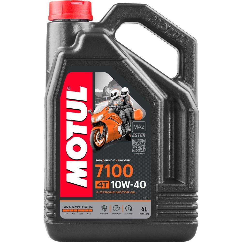 Pilnai sintetinė alyva MOTUL 7100 Ester 10W-40 4L