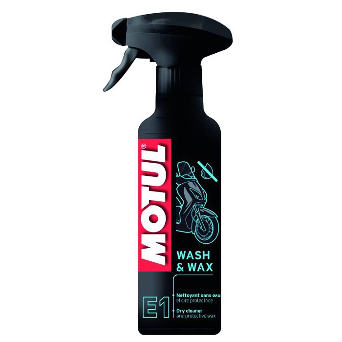 Valiklis MOTUL Wash & Wax E1 400ml