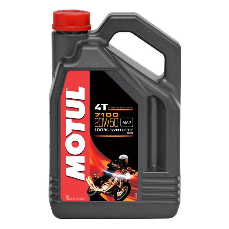 Pilnai sintetinė alyva MOTUL 7100 Ester 20W-50 4L