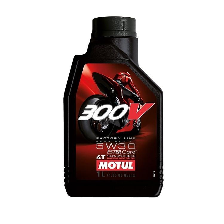 Pilnai sintetinė alyva MOTUL 300V Factory Line 5W-30 1L