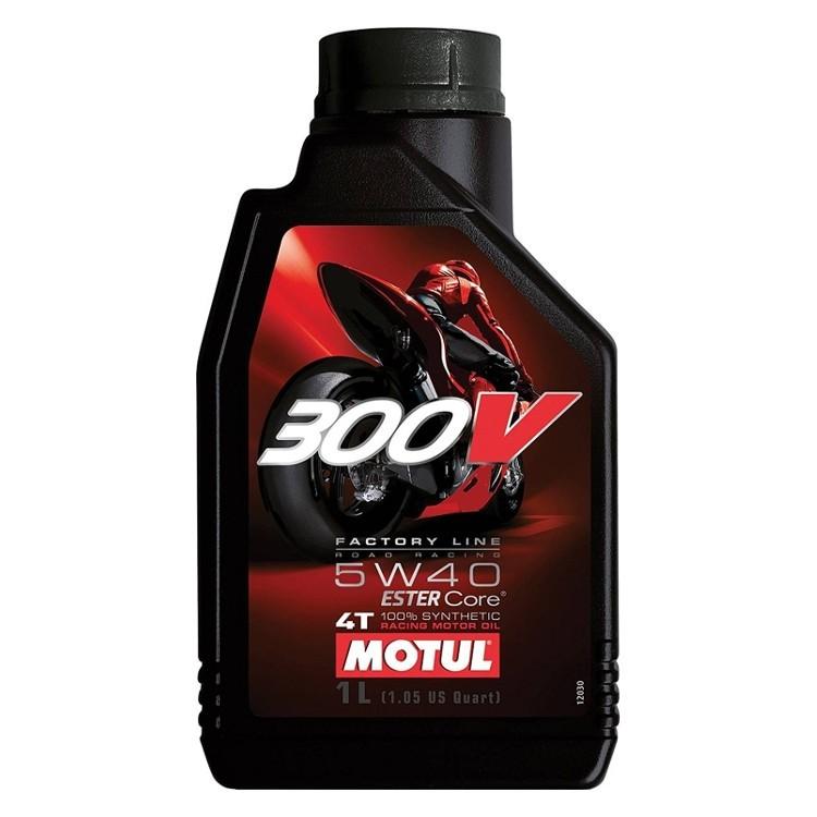 Pilnai sintetinė alyva MOTUL 300V Factory Line 5W-40 1l