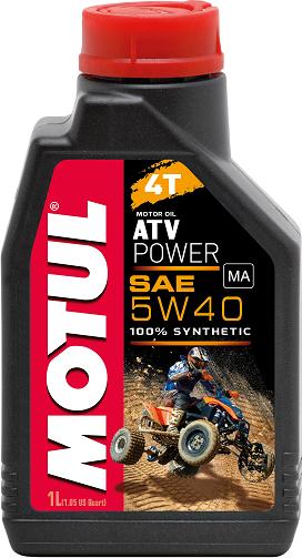 Pilnai sintetinė alyva MOTUL Power Quad 4T 10W-40 1L