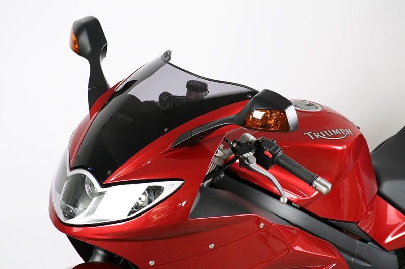MRA originally-shaped windshield Triumph Sprint St 1050-Red