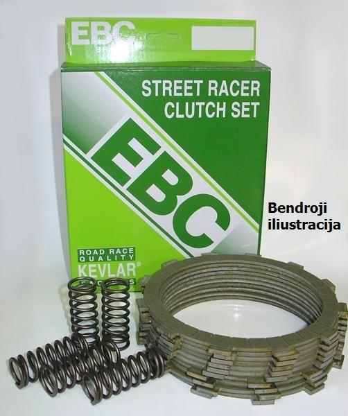 Sankabos komplektas EBC-SRC093 (Street Racer Kevlar)