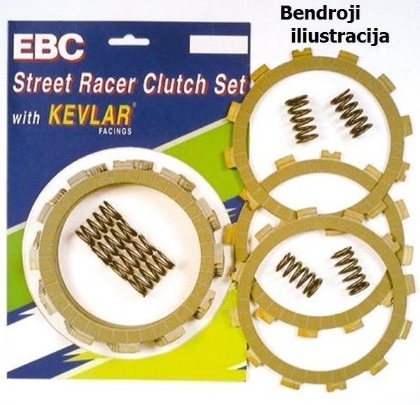Sankabos komplektas EBC-SRK102 (Street Racer Kevlar)