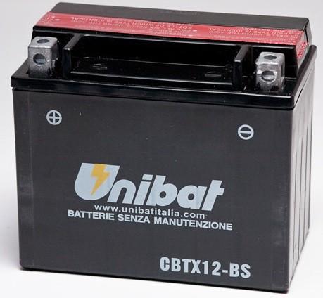 Akumuliatorius UNIBAT (UNICBTX12BS)