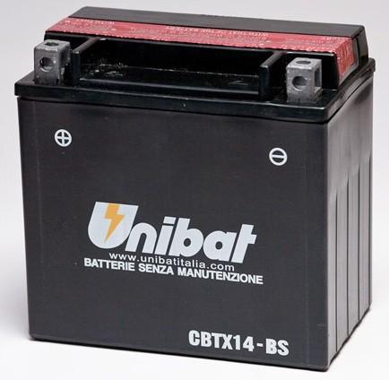 Akumuliatorius UNIBAT (UNICBTX14BS)