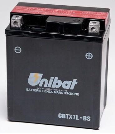 Akumuliatorius UNIBAT (UNICBTX7LBS)